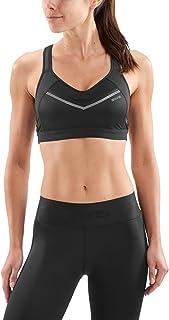 SKINS Women DNAmic High Impact Sports Bra - Black, Medium