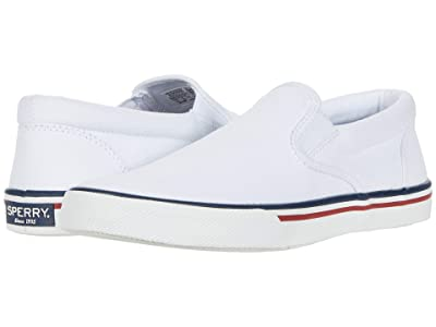 Sperry Striper II Slip-On Nautical (White) Men