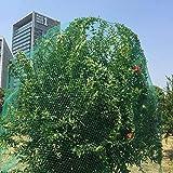 OUPAI Solaire Filet D'ombrage Vert Protection Anti oiseaux Net Mesh, for le jardin Myrtilles arbres fruitiers Volaille Cage étang net réutilisable Ne est pas Tangle Snag ou de la pourriture dans 6 Tai