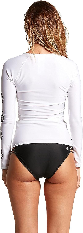 Volcom Women's Simply Core Long Sleeve Rashguard UPF 50+