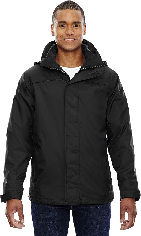 North End Men's 3-in-1 Jacket, 4XL, BLACK 703