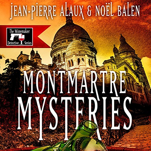 Montmartre Mysteries (Ne tirez pas sur le caviste) audiobook cover art