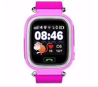 423330ccd Arisesun Posicionamiento GPS del teléfono Reloj de 1,22 Pulgadas Pantalla  táctil del Color del