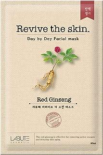 LABUTE Revive The Skin Mask Sheet (RED Ginseng mask sheet (10EA))