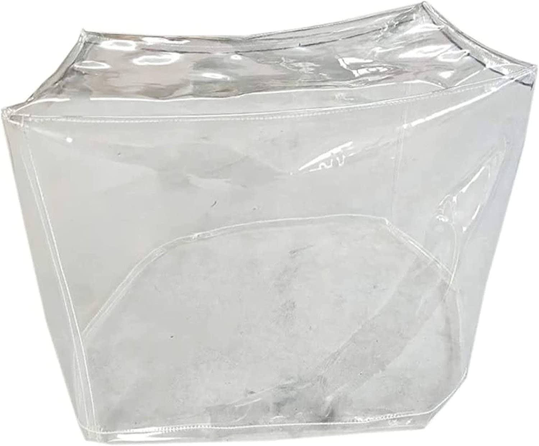ALGWXQ PVC Protective Nashville-Davidson Mall Cover Max 83% OFF Tarpaulin Transparent Resistant Tear