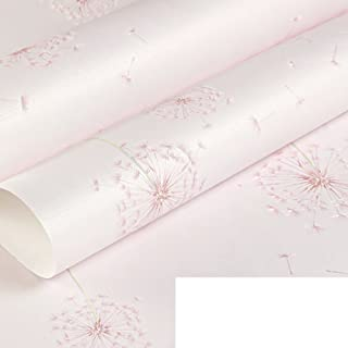 Dandelion wallpaper/ rural non-woven wallpapers/Bedroom warm and fresh and cute Korean wallpapers/ children's room walls-H