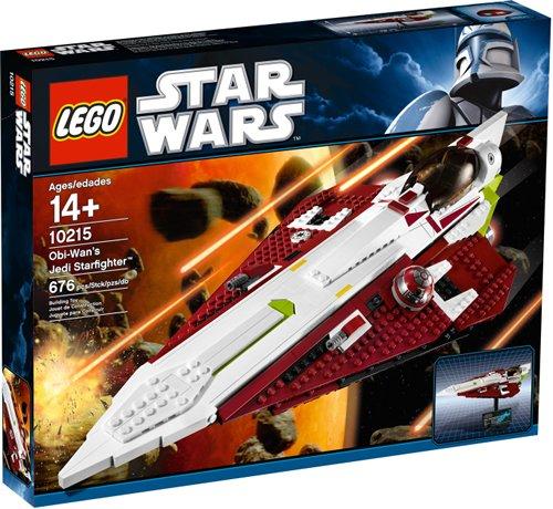 LEGO 10215 Star Wars OBI-WAN s Jedi StarfighterÂTM - Últimas Piezas