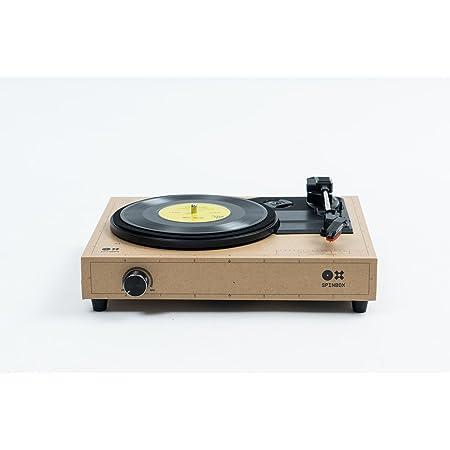 SPINBOX キャラメル DIY レコードプレーヤーキット