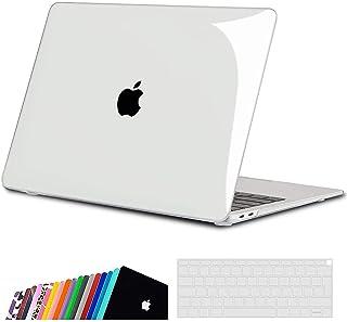 iNeseon Funda para MacBook Air 13 (A2337 M1/ A2179/ A1932), Delgado Carcasa Case Duro y Cubierta del Teclado para 2020 201...