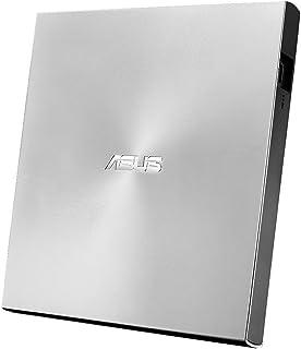ASUS外付けDVDドライブ バスパワー/ポータブル/Win&Mac/M-DISC2枚付属/USB2.0(USB3.0搭載PCでも利用可)/シルバー SDRW-08U7M-U/SIL/G/AS/P2G