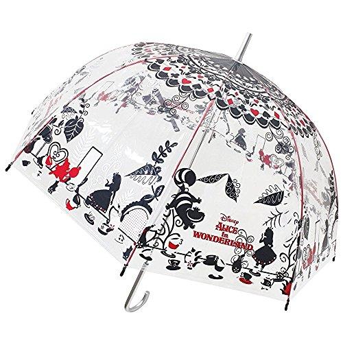 ジェイズプランニング 傘 ふしぎの国のアリス アリス 大人 ビニール傘 60cm 32408 [2137]