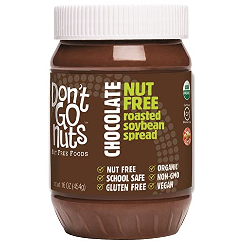 Don't Go Nuts Nut Free Organic Soy Butter, Chocolate, 16 Ounce