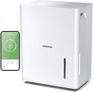 Pro Breeze Déshumidificateur Connecté Wifi Application mobile gratuite 30L/jour - Panneau de contrôle numérique, Drainage ...