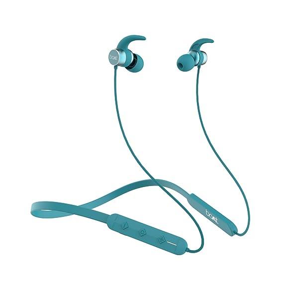boAt Rockerz 255 Pro in-Ear Bluetooth Neckband Earphone with Mic(Teal Green)