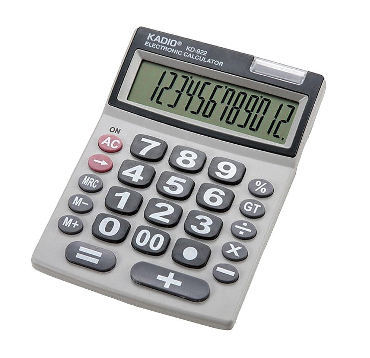 充実新着無意識カクセー シニアに優しい12桁電卓