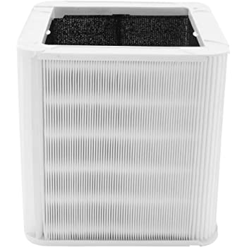 Replacement Filter Compatible with Blueair Blue Pure 211+ Air Purifier, Foldable Particle and Activated Carbon Filter, Allergen and Odor Removal