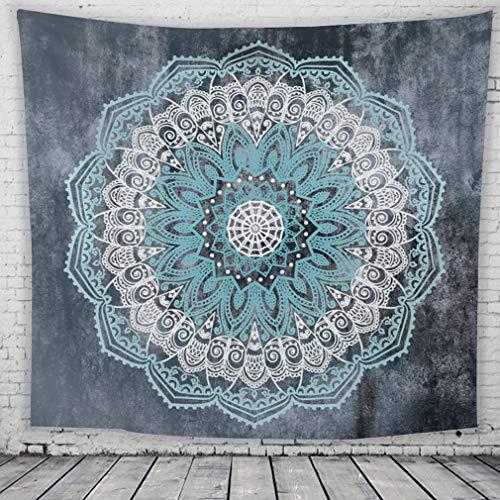 Lihan Tapicería Diseñador Indian Elefante Hippie Mandala de Pared Tapiz Estampado Floral...