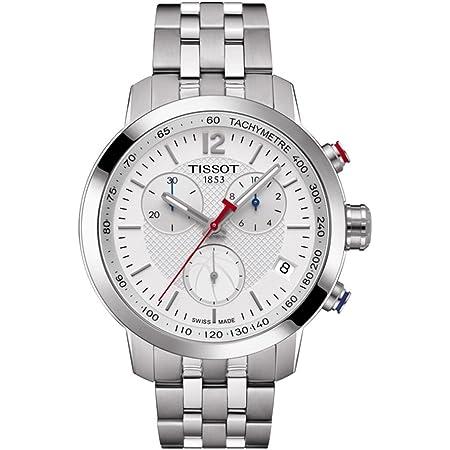 Tissot mens PRC 200 Gent Chr Qua Stainless Steel Casual Watch Grey T0554171101701