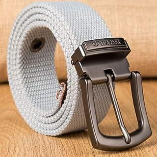 FBYDLL Cinturón Cinturón De Tela para Hombre Cinturón De Entrenamiento para Hombre Cinturón De Pantalones Vaqueros