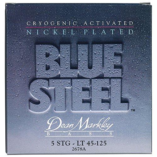 Dean Markley 2678A - Juego de cuerdas para bajo de acero, 45-125