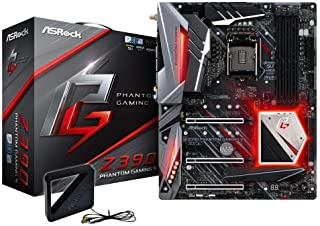 Asrock Z390 Phantom Gaming 9 LGA 1151 (Zócalo H4) Intel Z390 ATX - Placa Base (DDR4-SDRAM, DIMM, 2133,2666,2800,2933,3200,3600,3733,3800,3866,4000,4133,4266 MHz, Dual, 64 GB, Intel)