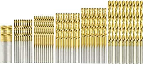 HSS Boor Set 60 STKS 1mm 1.5mm 2mm 2.5mm 3mm 3.5mm Titanium Coated HSS Boor Set Titanium Metalen Twist Boor Set Gereedscha...