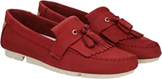 Clarks Trimocc Free Loafers for Men - Maroon 41.5 EU