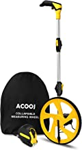 Measuring Wheel Zozen Collapsible with Kickstand and Cloth Carrying Bag Measurement 0-9,999 Ft.