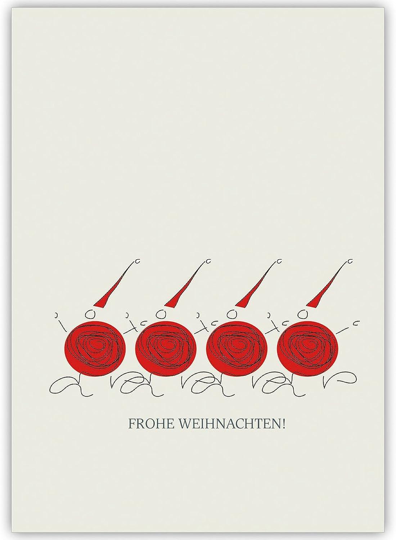 100er Set Schöne Unternehmen Unternehmen Unternehmen Weihnachtskarten mit 4 modernen Wichteln, innen blanko weiß Business Weihnachtsgruß, Glückwunsch zu Neujahr für Kunden & Mitarbeiter  Frohe Weihnachten B01M9C23GU      Spielzeugwelt, fröhlicher Ozean db1798