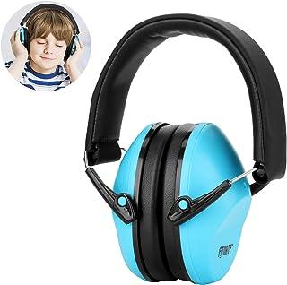 Fitnate 防音イヤーマフ折りたたみ型 子供用 自閉症 聴覚過敏 騒音対策 勉強等様々な用途に