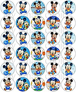picture about Mickey Anchor Printable named : Mickey Mouse - Cake Cupcake Toppers / Social gathering