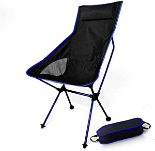 weuiuit Folding Portable Chair Fishing Camping Hiking Seat Long Beach Chair Light Contrast Color Furniture,Sf73600Db