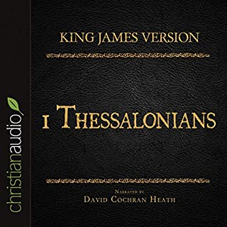 Holy Bible in Audio - King James Version: 1 Thessalonians cover art