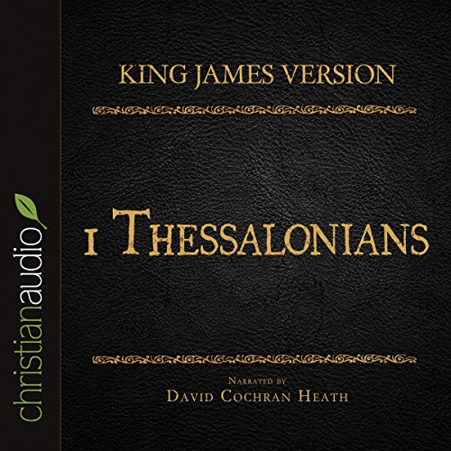 Holy Bible in Audio - King James Version: 1 Thessalonians audiobook cover art