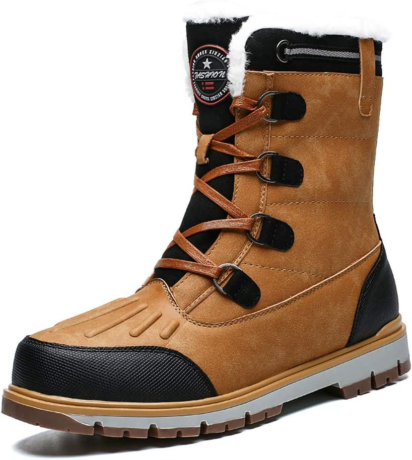 XLH Men Boots Waterproof Artificial San Jose Mall Fur Casual sold out Wome Winter