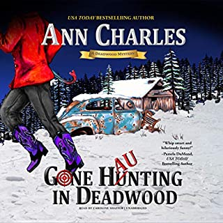 Gone Haunting in Deadwood     The Deadwood Mystery Series, Book 9              By:                                                                                                                                 Ann Charles                               Narrated by:                                                                                                                                 Caroline Shaffer                      Length: 14 hrs and 56 mins     1 rating     Overall 5.0