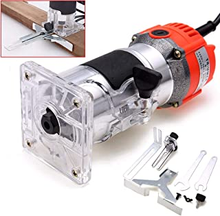 Wood Routers - 800w Electric Hand Trimmer 6 35mm Wood Lanate Palm Router Joiner Tool 135cm Length Cable - Wooden Woodwind Instrument - 1PCs