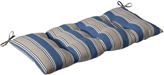 Pillow Perfect Indoor/Outdoor Hamilton Blue Swing/Bench Cushion
