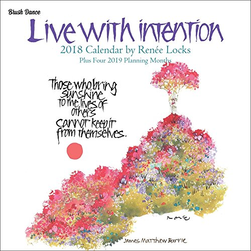 Live with Intention 2018 Mini Wall Calendar