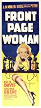 Front Page Woman POSTER Movie (14 x 36 Inches - 36cm x 92cm) (1935) (Insert Style A)