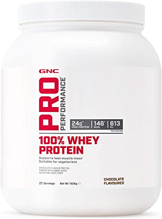GNC Pro Performance 100% Whey Protein Powder - Chocolate, 27 ...