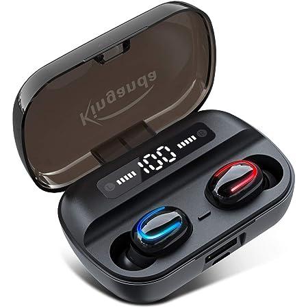 ワイヤレスイヤホン bluetooth 5.0 瞬時接続 完全 ワイヤレス イヤホンノイズキャンセリング 最新のTWS技術 スポーツ ワイヤレスイヤホン ハンズフリー通話 Hi-Fi高音質 IPX7防水 3Dステレオサウンド AAC オーディオ対応 (カナル型) 両耳 片耳 左右分離型 自動オンオフ 自動ペアリング Siri対応 フィット感抜群 ランニング コードレスイヤホン bluetoothイヤホン スポーツ マイク付き ぶるーとーすイヤホン TWS ワイヤレスイヤフォン 超軽量 bluetooth earphone