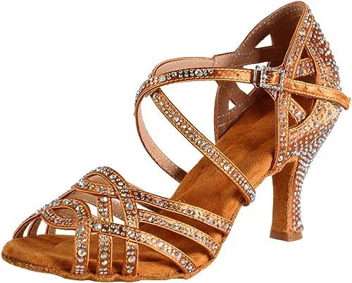 Zapatos De Baile Latino Mujer Salsa