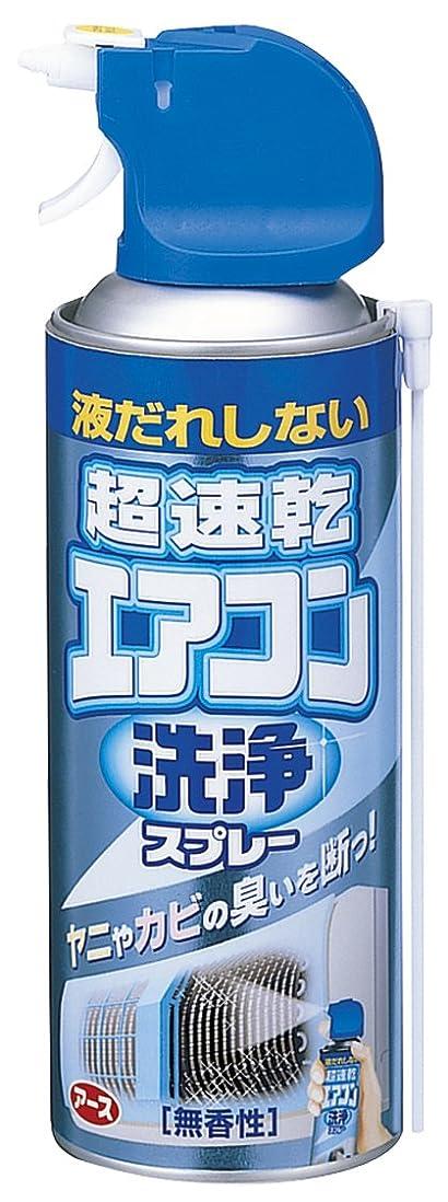 思いやりのある音声学穀物アース製薬 超速乾 エアコン洗浄スプレー 170mL