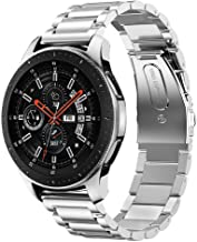 iiteeology Compatible for Samsung Galaxy Watch Bands 46mm, Stainless Steel Band for Samsung Galaxy Watch SM-800 Smart Watch - Silver