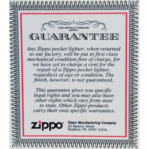 "Zippo ""United Kingdom Flag"" High Polish Chrome Lighter, 7961"