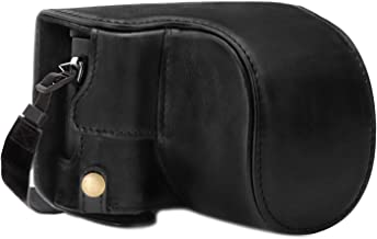 MegaGear Ever Ready Genuine Leather Camera Case Compatible with Panasonic Lumix DC-LX100 II