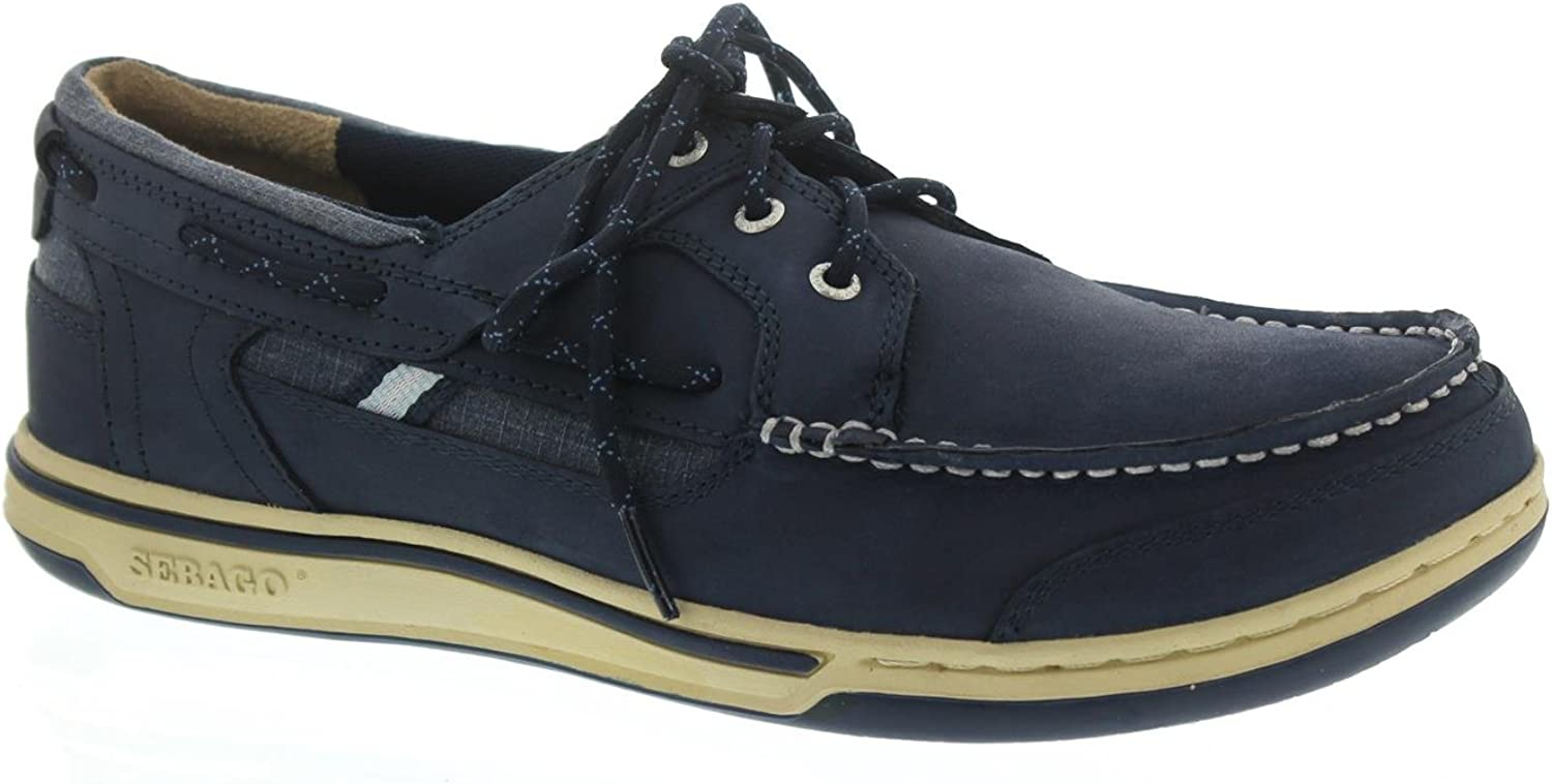 Sebago Triton Three-Eye, Three-Eye, Full-Grain Leather, Blau Navy 70004Z0-908  Bis zu 60% Rabatt