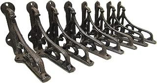 Shelf Brackets Braces Cast Iron Very Small Rustic Antique Style Lot Set of 8