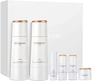 Sponsored Ad - DONGINBI Red Ginseng Korean Skin Care Set, Moisture & Balancing Softener and Emulsion - Moisture & Firming ...